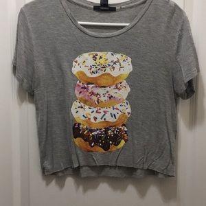 Donut Knit crop top